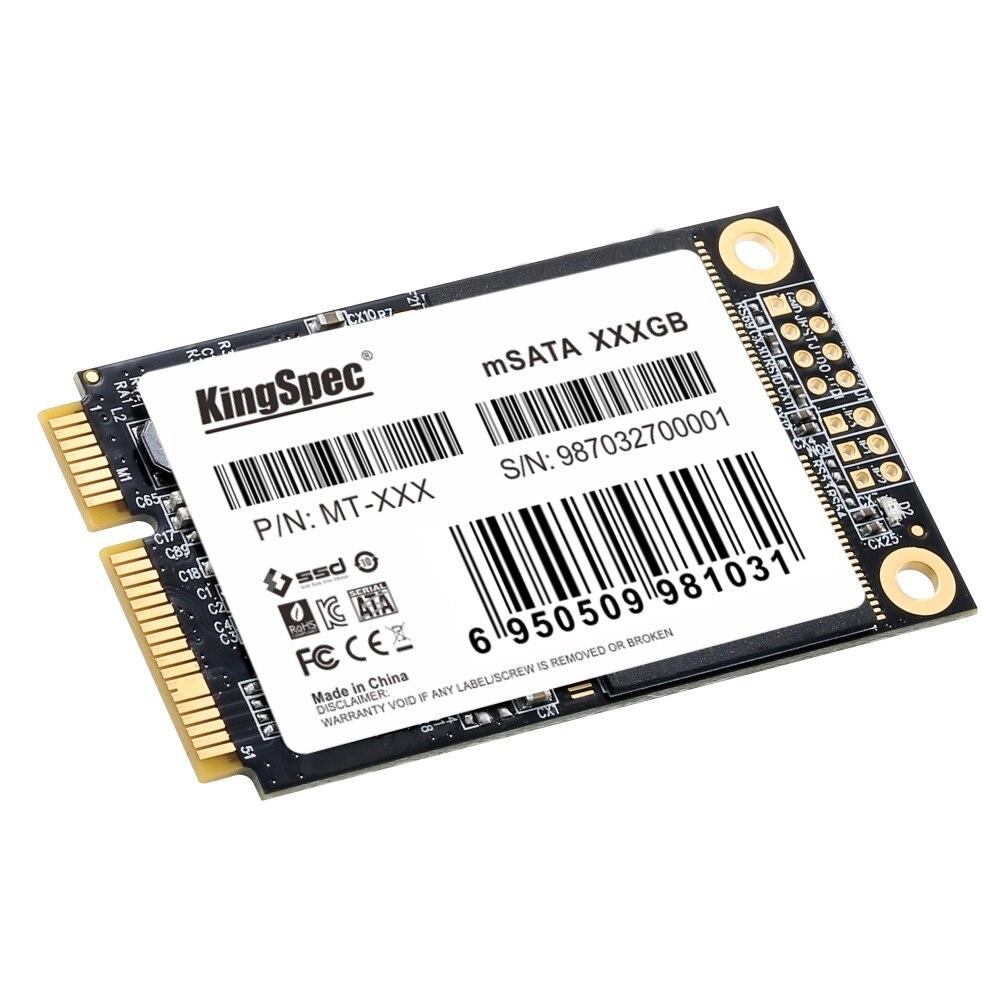 KingSpec SSD 240GB 256GB mSATA SSD SATA III Internal Solid State Hard Drive for Computer Laptop