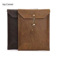 Europe Style Genuine Leather Dosya Folder Carpetas Para Documentos Carpetas Document Bag Archivador Office Papeleria 29