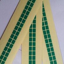 500pcs/lot PULL TAPE Easy tear stickers Tear OCA Laminating machine Polarizing film Tear film tape Protective film