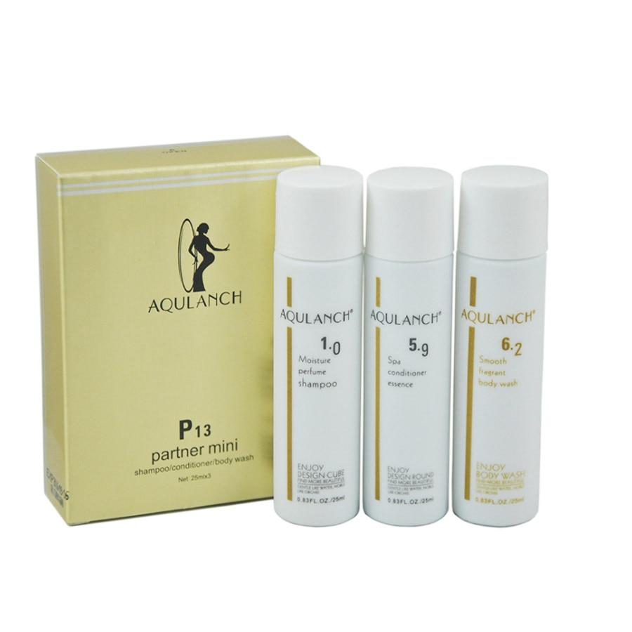 High Quality Mini Traveler bathing font b set b font Toiletries Perfume Shampoo Spa conditioner essence