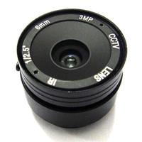 HD 3mp 6mm CS Lens 1 2 5 Manual Focus CCTV Iris IR Infrared Lense For
