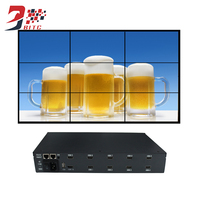 Video Wall Controller 2x2 2x3 3x3 4x2 Max 15x15 HDMI AV USB LCD Image Splicing Processor 180 Degree Rotation