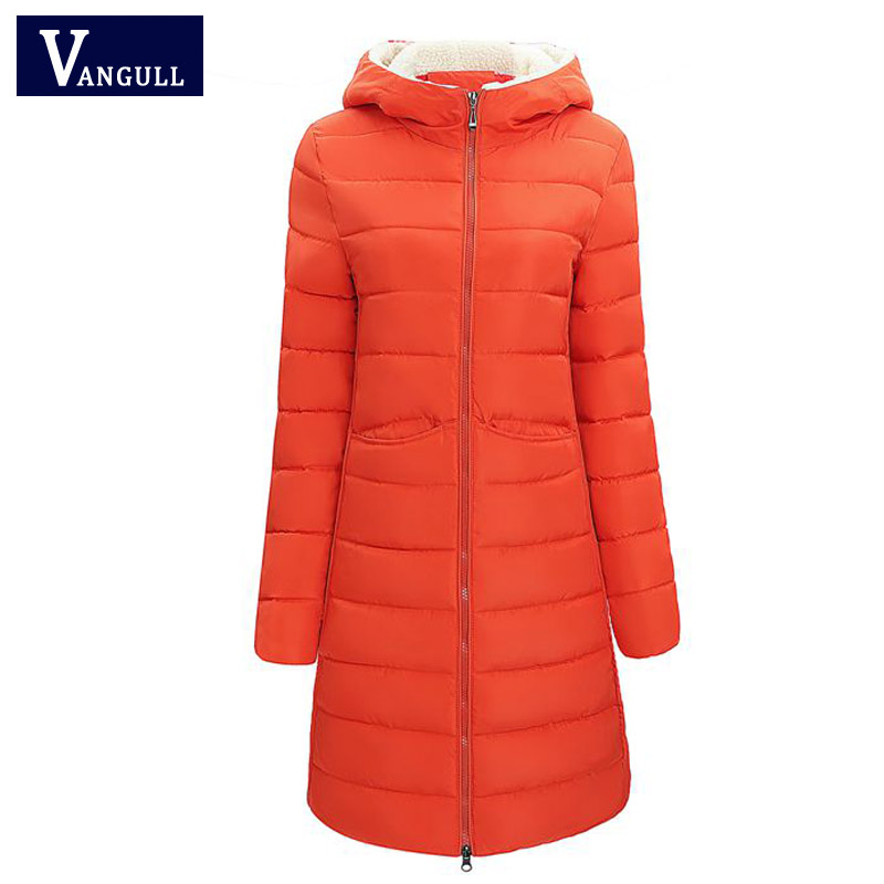 Long Winter Jacket Women Cotton Wadded Jackets 2017 New High Quality Slim Padded Coat Outwear Warm Hooded Parka Feminina high quality new winter jacket parka women winter coat women warm outwear thick cotton padded short jackets coat plus size 5l41