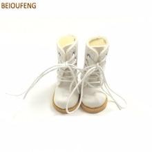BEIOUFENG BJD Skor Höga stövlar för dockor, 3,8 cm Sneakers för dockor, Causal Canvas Shoes Gymskor för BJD Dolls Toy One Pair