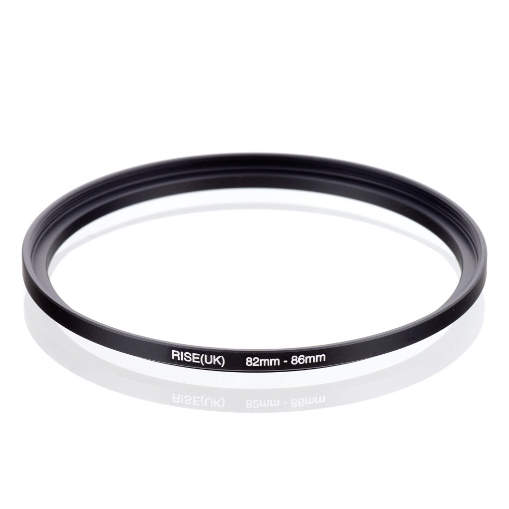original RISE(UK) 82mm-86mm 82-86mm 82 to 86 Step Up Ring Filter Adapter black