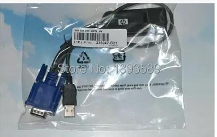 ФОТО free ship,336047-B21 396633-001 AF616A AF617A KVM USB Console Interface Adapter