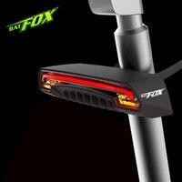 BATFOX Intelligent remote control Bike lights Turn signal Safety warning lights The laser tail lights