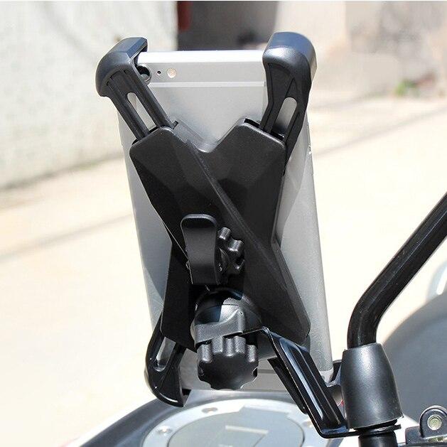 2019 Hot Espelho Retrovisor Ajustável Universal Suporte Do Telefone Suporte Do Telefone Da Bicicleta Montar Telefone Motocicleta Guiador Suporte Celular