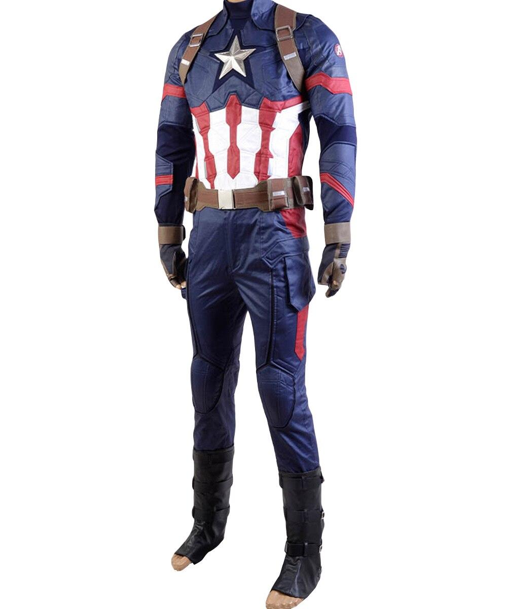 captain america civil war cosplay costume captain america costume