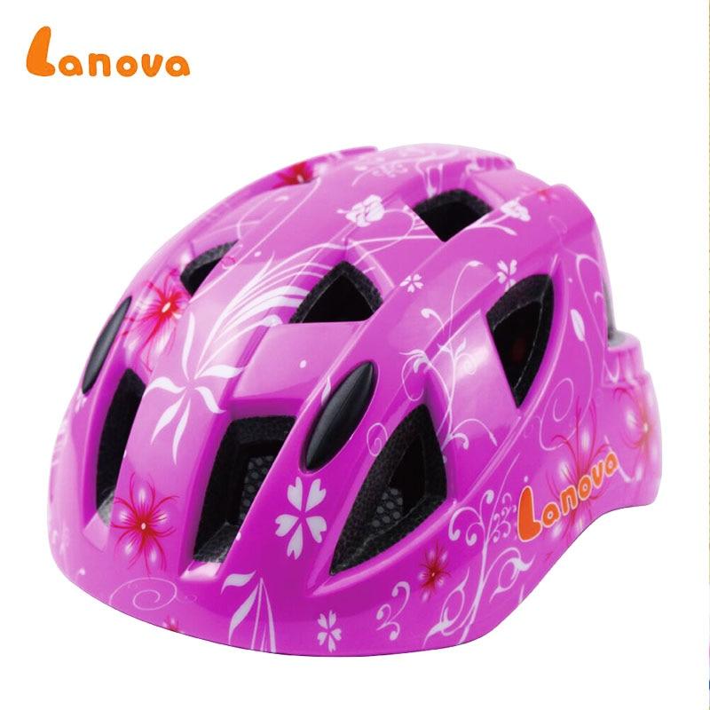 LANOVA Children Protector Bicycle helmetSkateboard Helmet Ice Skating Protector Roller scooter Cycling Helmet For Kids capacete