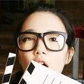 Superdimensionada óculos de armação quadro masculino Mulheres óculos não-mainstream do vintage óculos de armação espetáculos de vidro preto liso