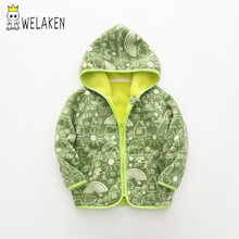 WeLake  New Outerwear & Coats Boys Fleece Jacket For Gir