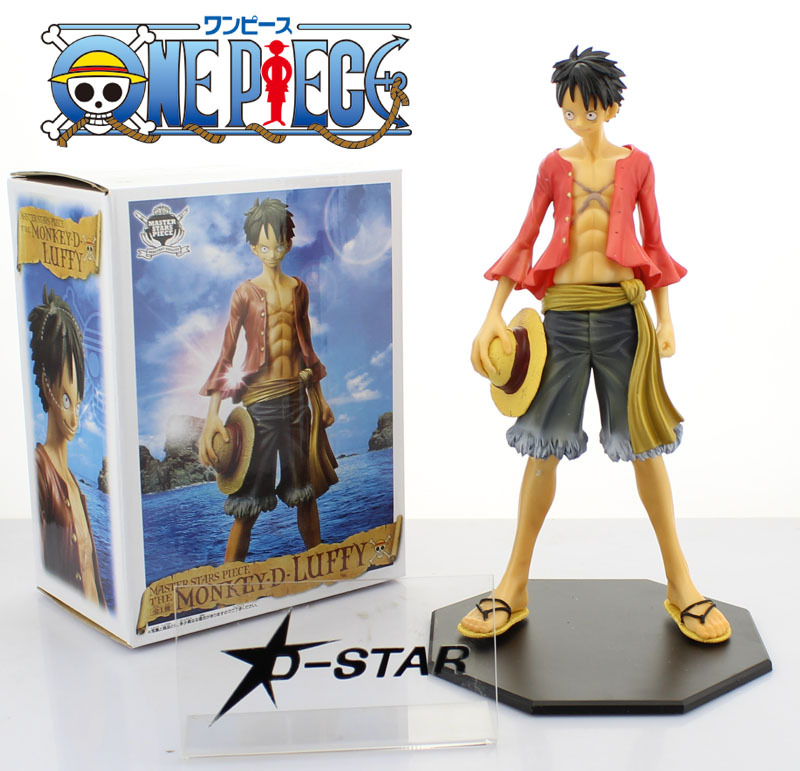 """Free Shipping 10"""" One Piece Monkey D Luffy After 2 Years"""