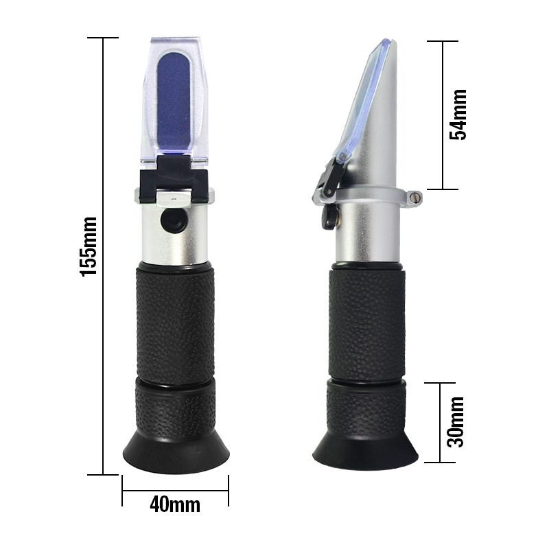 В Батарея/cCoolant рефрактометр, который Особенности автоматический Температура двойная шкала Удельный Gravit заменяет хомеб RALLSUN EM2230