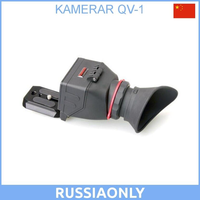 QV-1 KAMERAR, viseur LCD pour CANON 5D MarK III II 6D 60D 70D, pour Nikon D800 D800E D610 D600 D7200 D90, pour Sony A7r