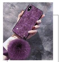 BotexBling Роскошные мраморный браслет блеск цепи чехол для телефона для iphone XS MAX случае 8 8 плюс 7 7 plus 6s плюс 6 plus для iphone X XR