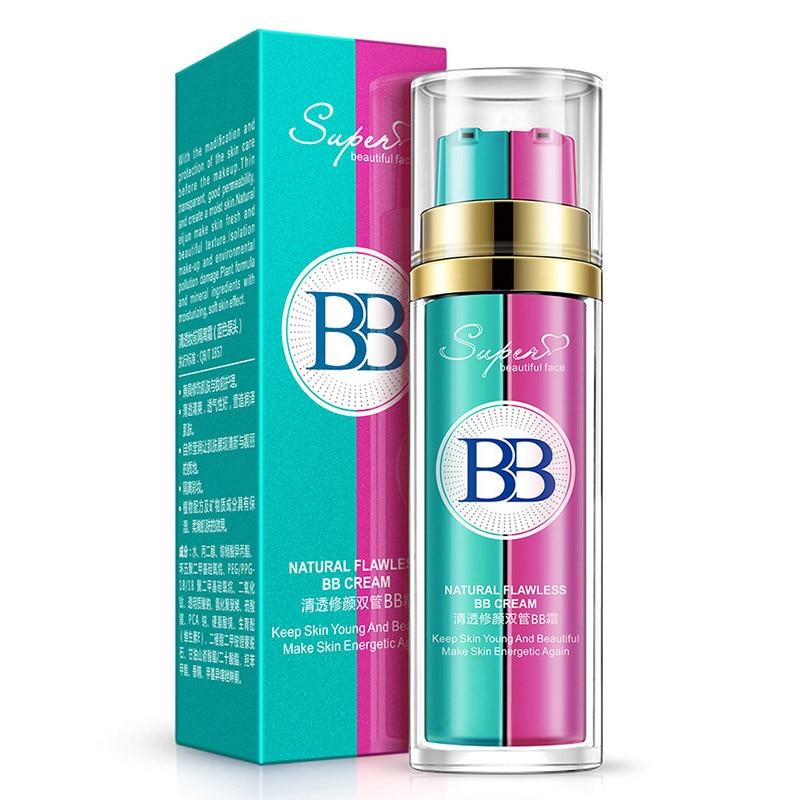 Bb & Cc Cremes Gewidmet Bb Creme Make-up Primer Doppel-barrelled Concealer Feuchtigkeitscreme Feuchtigkeitsspendende Erhellen Haut Nude Kosmetik Basis Atmungs Make-up