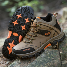 GOMNEAR New Trend Autumn And Big Size Winter HIking shoes