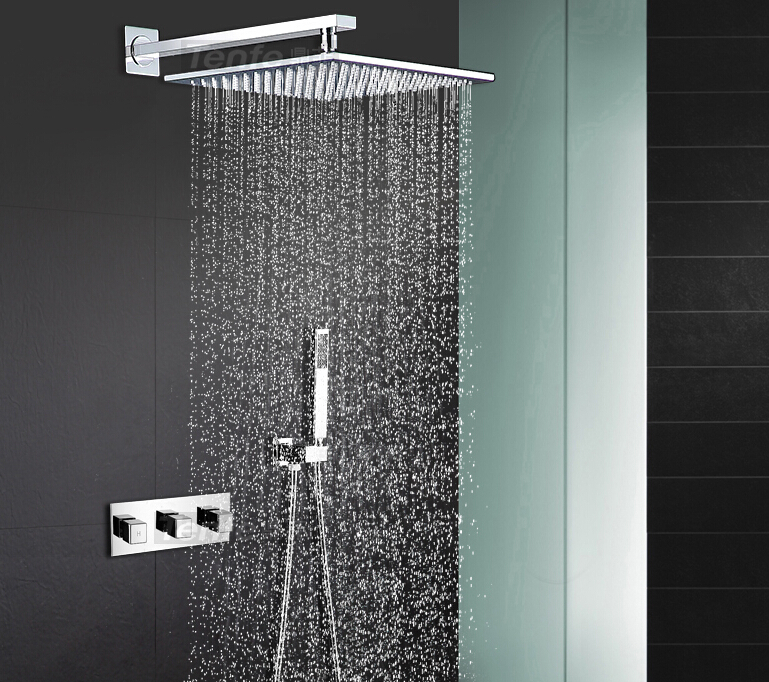bathroom in wall mounted  Shower Set With 10