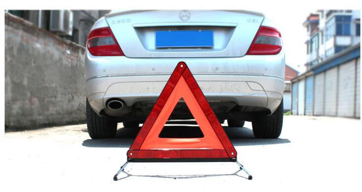 Folding Car Emergency Tripod Reflective Automobile Traffic Warning stop sign car styling Parking assist Placard
