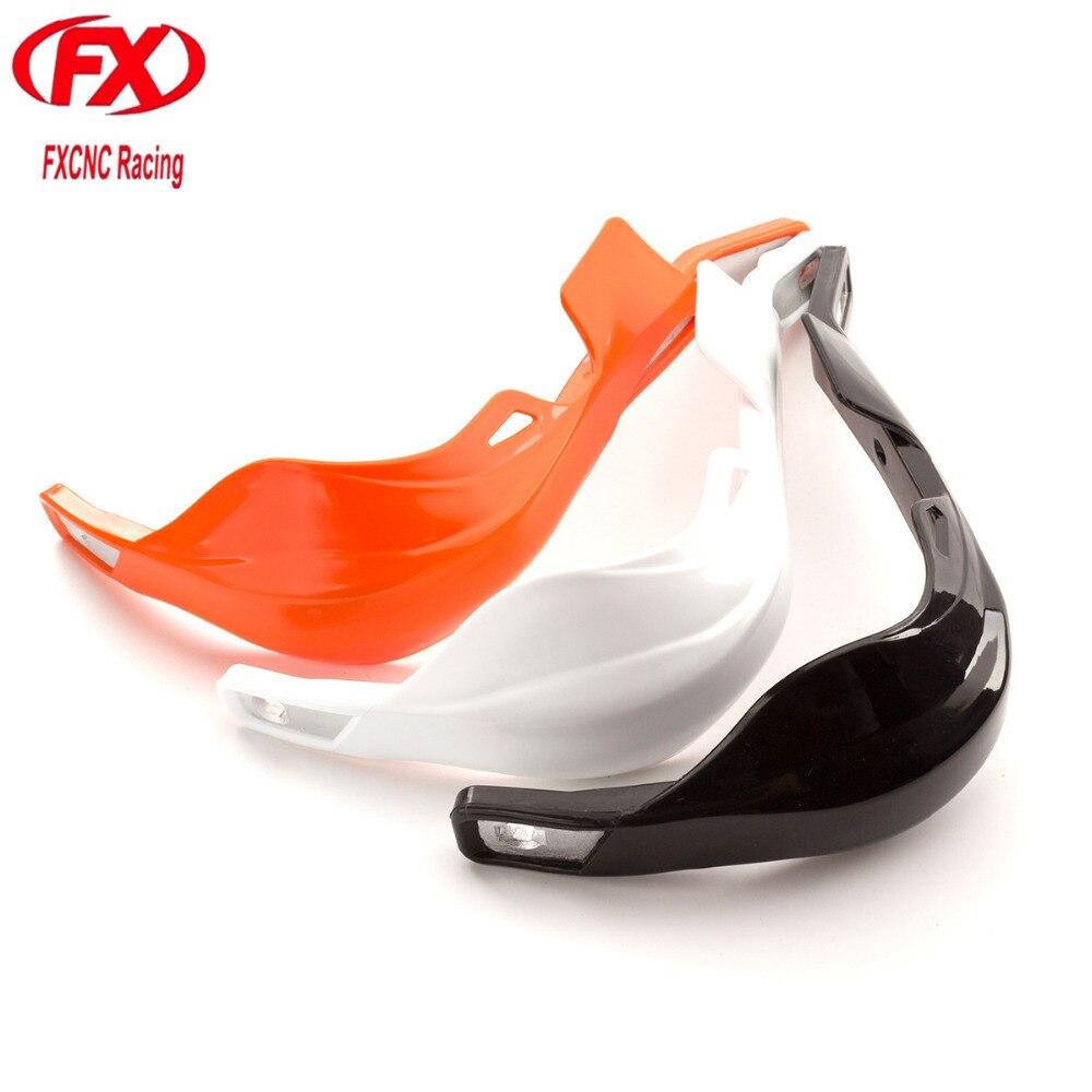 Aluminum CNC Motorcycle Handlebar Hand Guards Handguard Protector Protection For 7/8