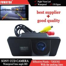 Fuwayda заднего вида Sony CCD Обратный Парковка Резервное копирование Детская Безопасность Камера для BMW e81/E87/E90/E91 /E92/E60/e61/e62/E63/E64/X5/X6 HD
