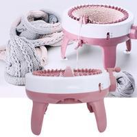 40 Needles DIY Hand Knitting Useful Machine Weaving Kit for Scarf Hat Socks Kids Educational Toys