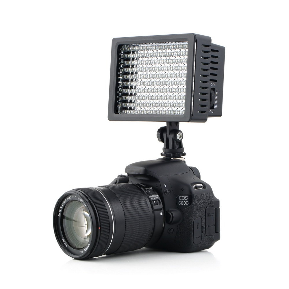 160 LED Kamera Video Licht für Canon für Nikon Kamera DV Camcorder Fotografie Studio Professional Hohe Qualität