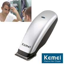 Kemei Mini Hair Trimmer Portable Electric Hair Clipper Rechargeable Cutting Machine Hair Style DIY Tools for Men Kids 2019