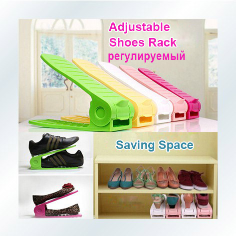 Merveilleux 2pcs/lot Shoes Rack Shoes Organizer Space Saving Shoes Stand Shelf Shoe  Storage Holder Adjustable