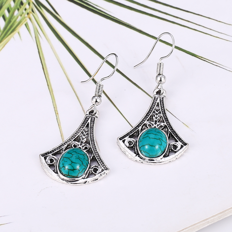 Bohopan Classic Vintage Dangle Earrings Bohemia Style Women Irregular Drop Fashion Pendant Statement Female