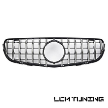 front grille suitable for glc class w253 gtr 2015 2018 x253 glc200 glc250 glc300 glc450 glc63 grille without central logo For Mercedes For Benz GLC-class X253 GLC200 GLC250 GLC300 GLC450 GLC63 2015-on with Emblem Front Bumper Racing Grille