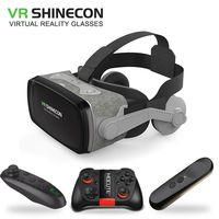 2019 Casque 9.0 VR Virtual Reality Goggles 3D Glasses Google Cardboard VR Headset Box for 4.0 6.3 inch Smartphone