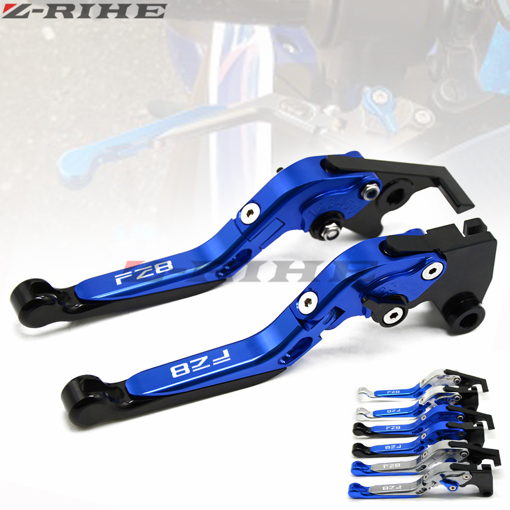 Adjustable Brake Clutch Levers Parts For Yamaha FZ8 2011 2012 2013 2014 2015 Motorcycle CNC Aluminum Brake Levers Handle cnc billet adjustable long folding brake clutch levers for yamaha fz6 fazer 04 10 fz8 2011 14 2012 2013 mt 07 mt 09 sr fz9 2014