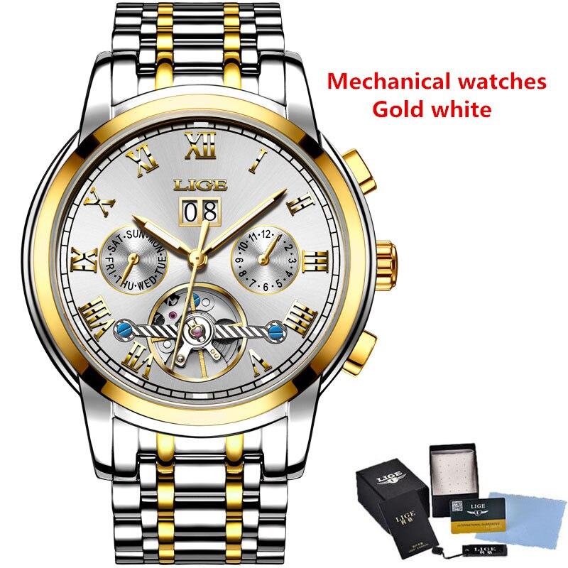 Gold white mechanic