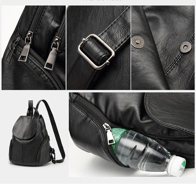 CHISPAULO luxury Genuine Leather Womens Backpacks Brief Casual Knapsack Laptop Bag travel Ladies Pocket Girl School bags C262