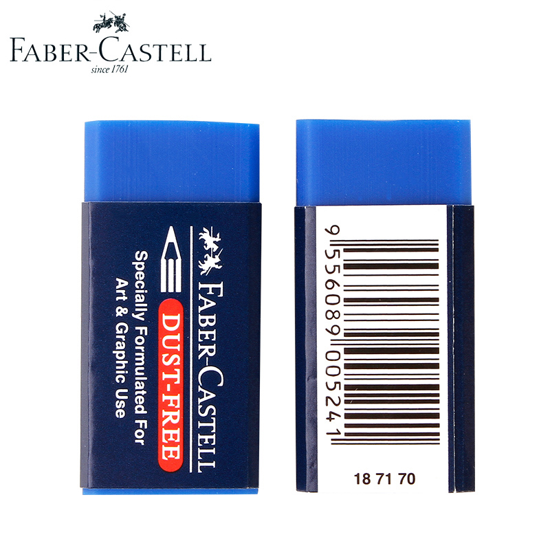Faber-Castell 5Pcs/set Pencil Eraser Soft Ultra- Clean Eraser Art Sketch Painting Pencil Rubber Art Supplies Student Stationery scribble scribble pen faber castell 25 pieces of pencil sketch sketch article carbon combination 112969