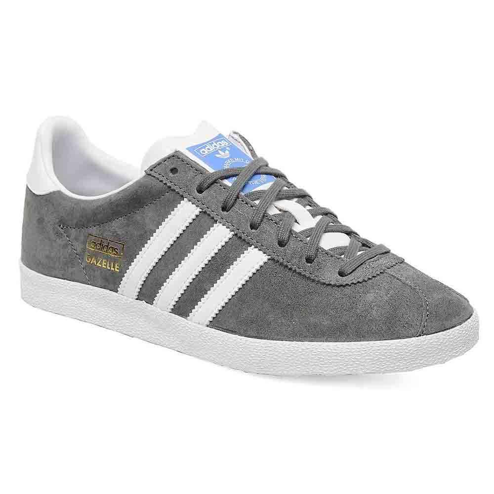 Sneakers G51304 adidas gazelle GREY WHITE