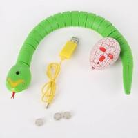 Rattlesnake Animal Trick Terrifying Mischief Toy Novelty Remote Control Snake Gags Practical Jokes Toys