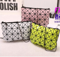 2016 Famous Bao Bao bag Diamond Lattice Fold Over Bags Small Women Clutch Handbag Chain Shoulder Messenger Bag Wristlet baobao