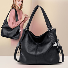 2019 New Women Leather Handbags Luxury Genuine Leather Bags Handbags Women Famous Brands Shoulder Crossbody Bags Ladies Tote Bag цена 2017