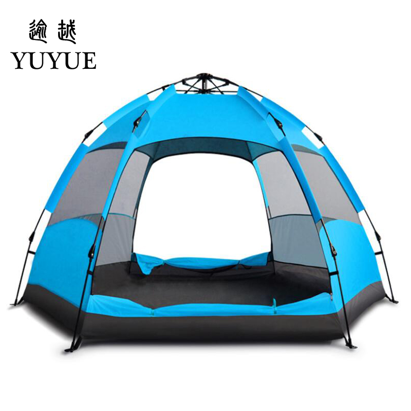 Ultraviolet-proof Tents Outdoor Camping Outdoor Sunscreen Beach Tent Benefit For Ventilation  Big Space Family Camping Tent  0