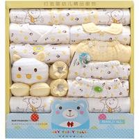 100 Cotton Newborn Clothes Winter Baby Gift Box Set Baby Products Newborn Baby Set 19 Pcs