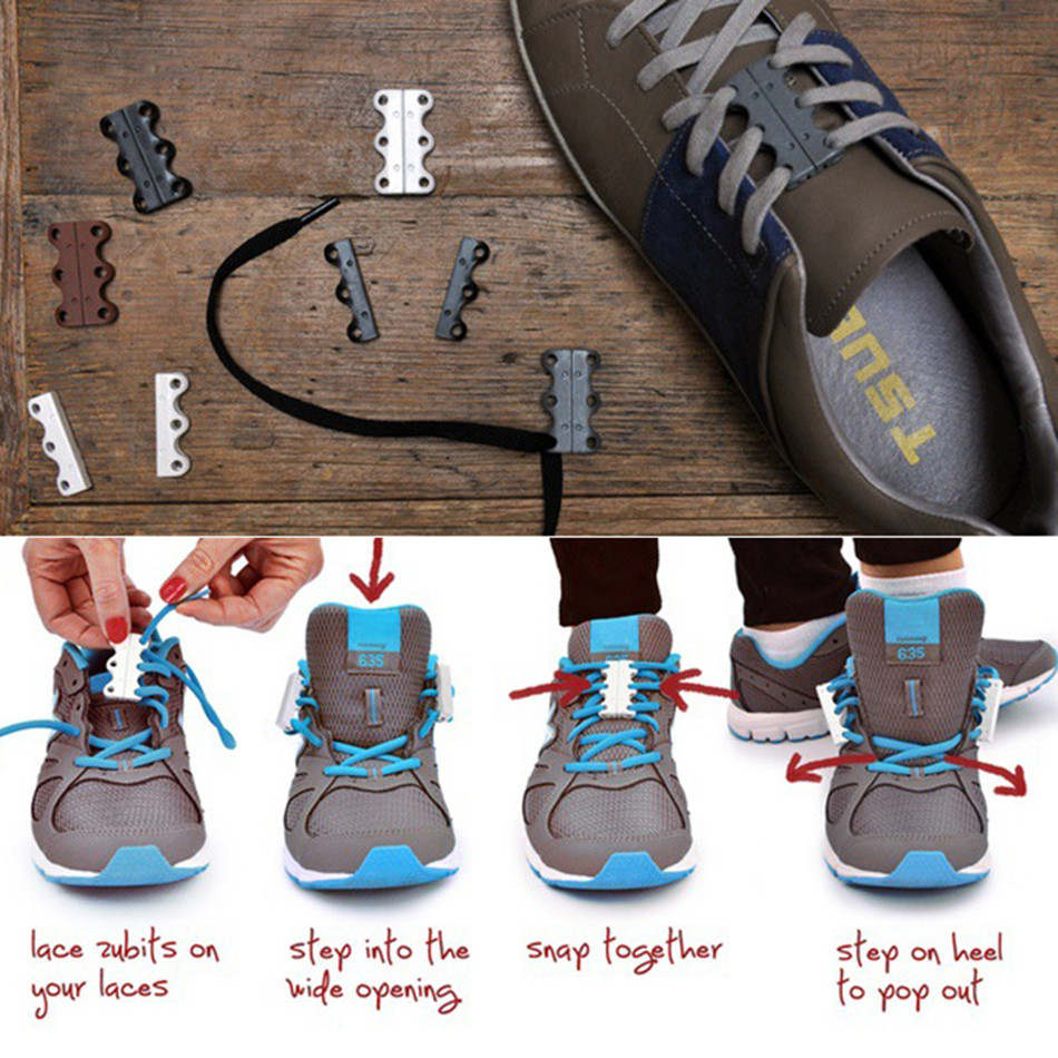Shoe Buckle Lazy Shoelace Buckle Magnetic Free Laces Running Sports Automatic Men and Women