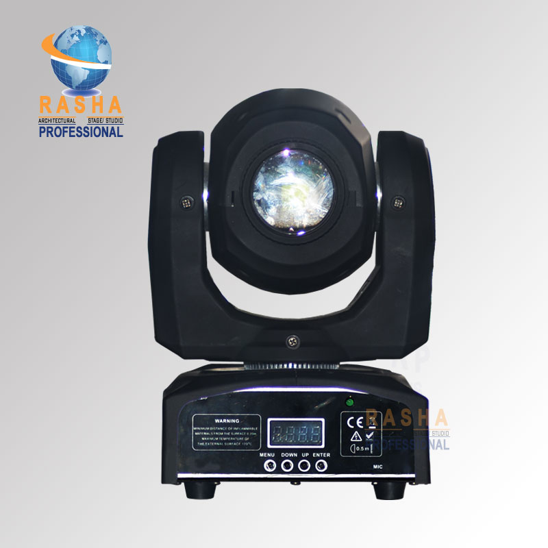 (Pack of 10) Rasha Inno Pocket Spot 30W MINI LED Moving Head Spot Light Stage Moving Head Gobo Light For Stage Event DJ Club цена