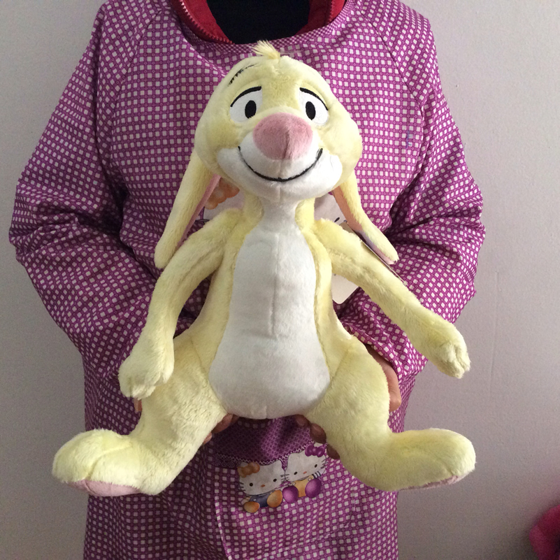 Free Shipping 40cm 15.7'' Original Winnie good friend Rabbit Stuff Animal Soft Plush Toy Doll Birthday Children Gift Collection 1pcs 35cm original gray eeyore donkey stuff animal soft plush toy doll birthday children