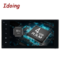 Idoing 2Din 7 Android8.0/7,1 автомобильный мультимедийный плеер руль для Toyota Universal RAV4 8 Core быстрая загрузка 4 + 32/2 + 16 г NO DVD