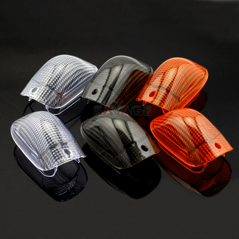 Front Turn Signal Light Lens For KAWASAKI ZZR ZZ-R 1100C 1100 C ZX-11 1990 1991 1992 ZZR1100C ZX11 ZX 11 Lamp Cover Motorcycle
