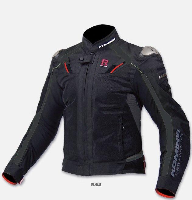 Équipements de protection moto hommes d'été respirant moto veste jk 063 moto veste racing veste
