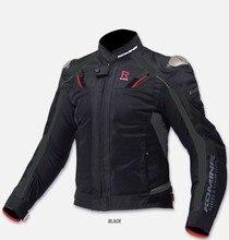 Moto rcycle защита оборудования мужская летняя дышащая Мото куртка JK 063 moto rcycle куртка гоночная куртка